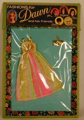 STRIPED SPLENDOR dress