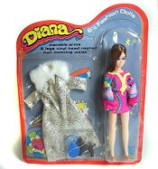 Diana doll from England