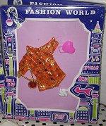 Fashion World Orange Diamond