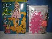 Pink Floral Stand
