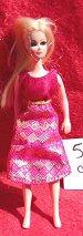 Jeanie Pink diamond Dress
