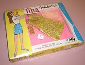 Tina Fashions Gold Metallic Dress