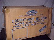 Outfit shipping box