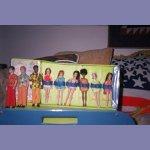 6 doll case VARIATION-USA