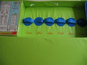 6 doll case VARIATION-USA---BLUE staps.