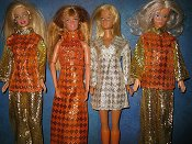 Vintage Diamond Barbie Size fashions