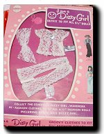 Dizzy Girl White Lace