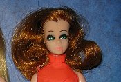 Glori K11 head mold with curly hair--HTF