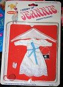 I Dream Of Jeannie White Cotton Dress