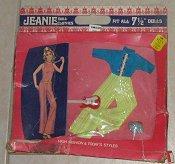 Jeanie Blue Green