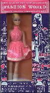 Doll in pink polka dot mini
