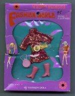 Fashion World -- pink diamond
