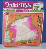 Triki Miki Bride outfit