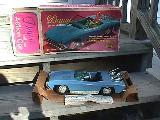 Dawn's Blue Car