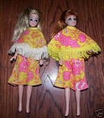 Miki Yellow & Pink Cape sets
