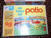 Milton Bradley Patio playset