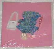 1972 MW Blue floral short dress