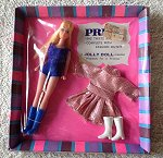 Pride doll purple swimsuit & pink fashion