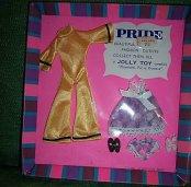 Pride Gold Pantsuit & Purple Nightie