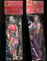 Dolls released in baggies