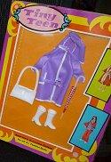 Tiny Teen Purple Rain coat