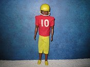 Van in Football uniform