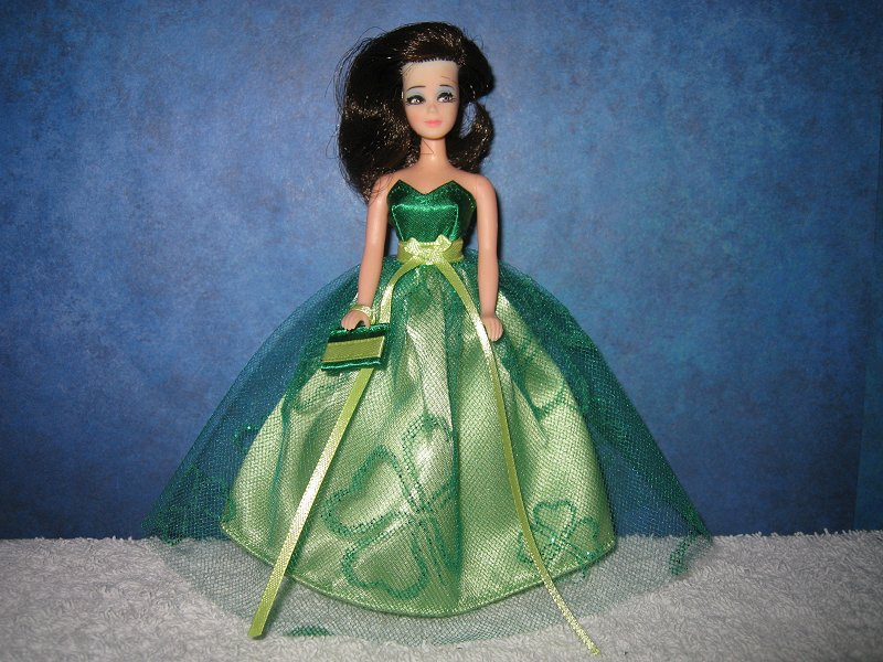 St Pats Sweetheart Tulle ballgown