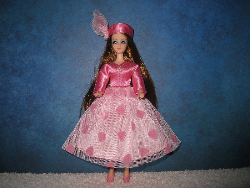 Valentine Dress with hat