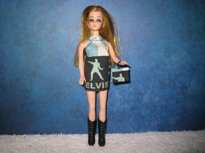 Elvis Square Mini with purse