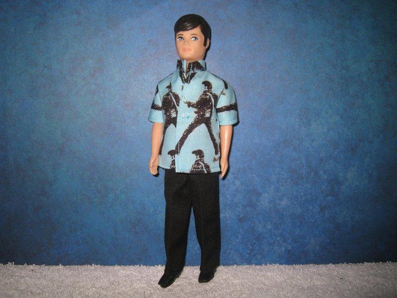 Gary ELVIS guitar shirt & pants