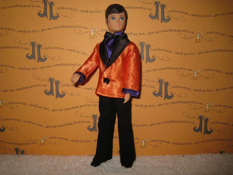 Tuxedo Orange and Purple