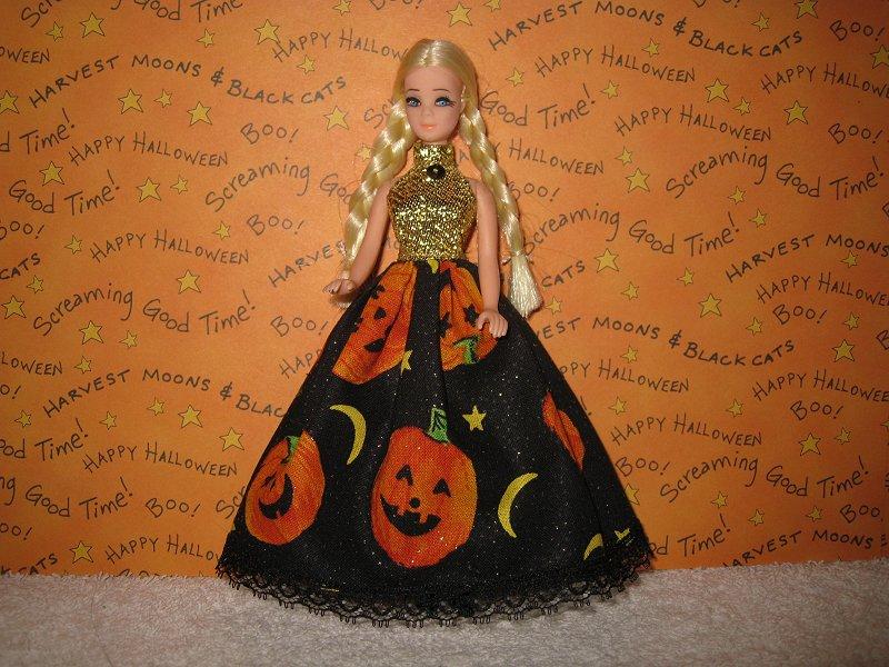 Pumpkins Halter Gown