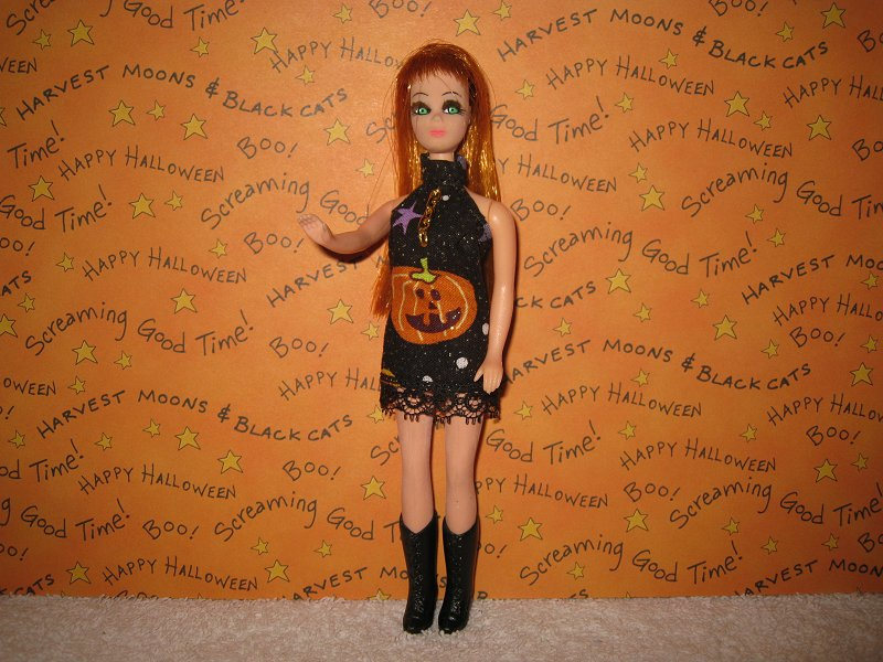 Pumpkin Toss Mini with Lace