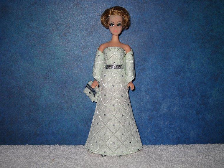 MINT DIAMOND gown wrap & purse