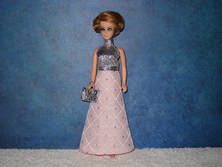 PINK DIAMOND gown & purse