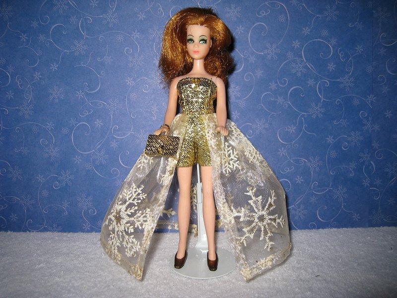 Golden Snowfal Euro Ballgown PREORDER