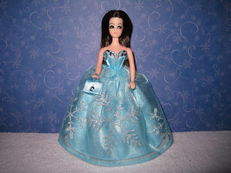 Light Blue & Silver ballgown (Angie)