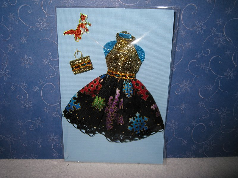 Multicolor Snowflakes Dress