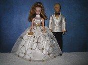 Spring Formal Cream Gold Coupl