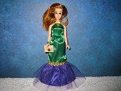 Mardi Gras Fishtail gown