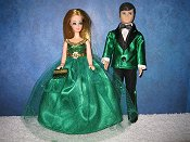 St Pats Green Couple