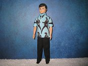 Elvis GARY guitar shirt & pants, reversible