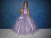 Lavender Crush ballgown