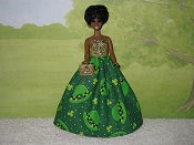 PARADE DAY gown with purse