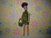 Apple Green Eyelash Mini with purse