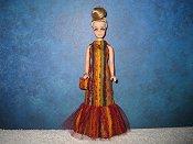 Autumn Fishtail Gown