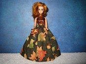 Autumn Acorn Gown