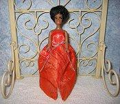 Autumn Sparkler gown & purse