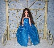 Azure Sparkler gown & purse