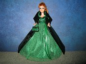 Emerald Sparkle with purse PREORDER